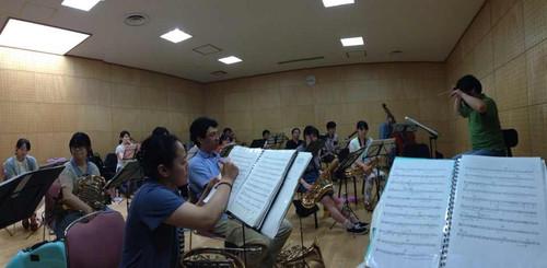 強化練1日目の金管分奏